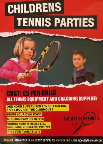 Tennis Parties